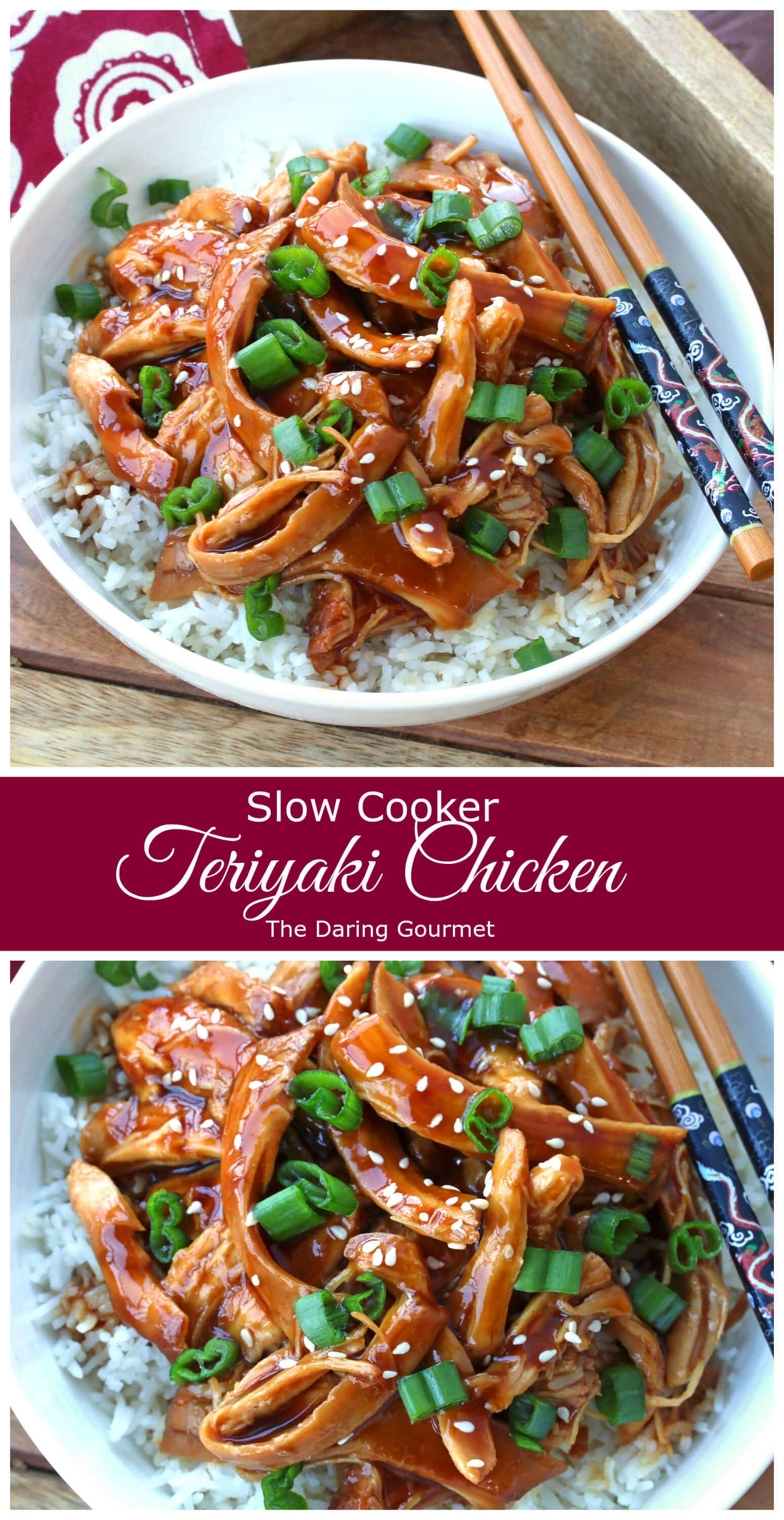 teriyaki chicken recipe slow cooker