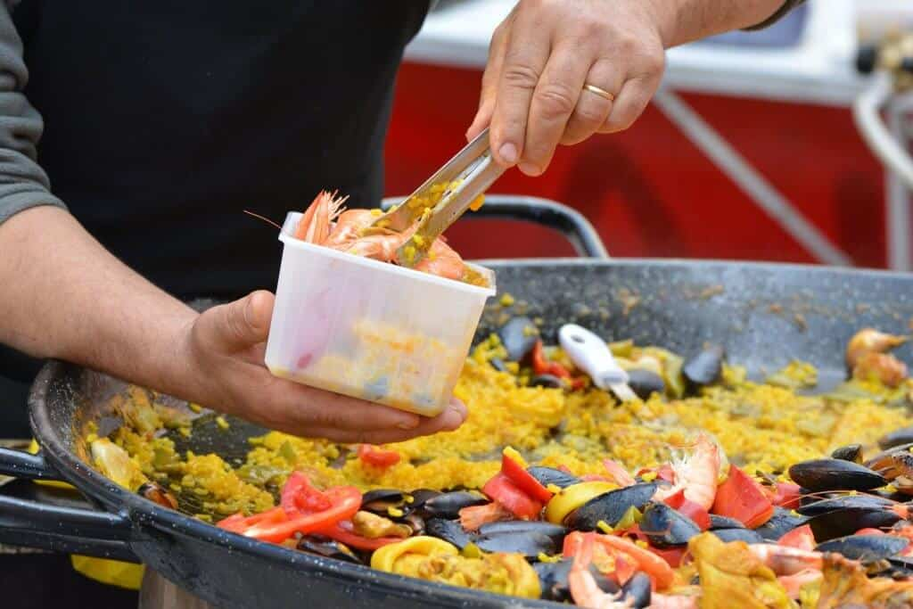 paella national dish of spain