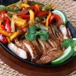 steak fajitas recipe best grilled beef chicken pork veal wild game