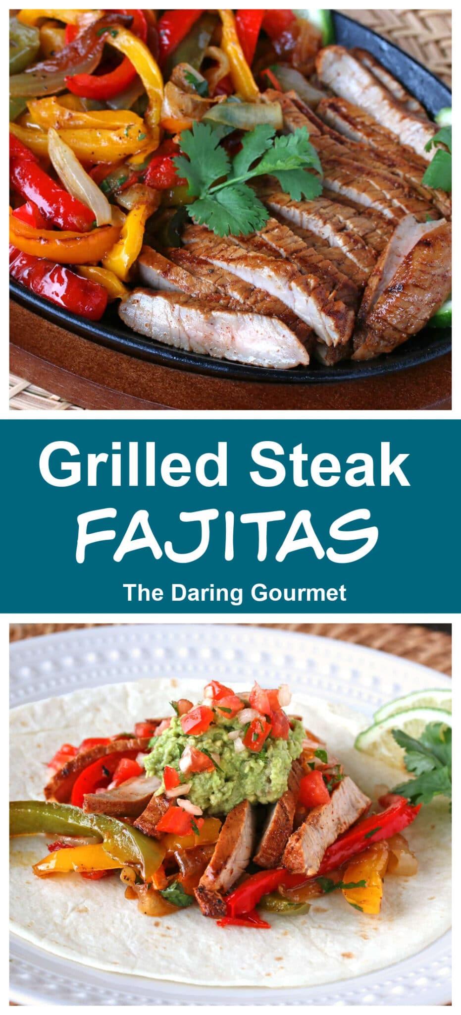 steak fajitas recipe best grilled beef veal pork chicken turkey
