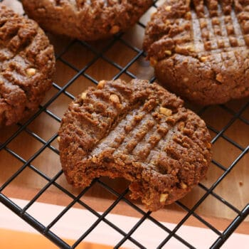 healthy peanut butter cookies recipe 3 ingredients coconut oil