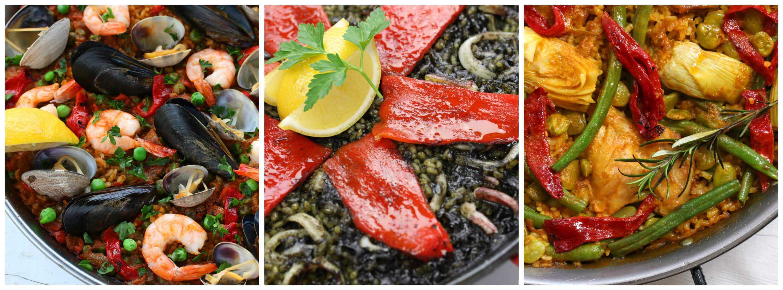 squid ink paella black rice arroz negro arros negre spanish recipe puerto rican cuban