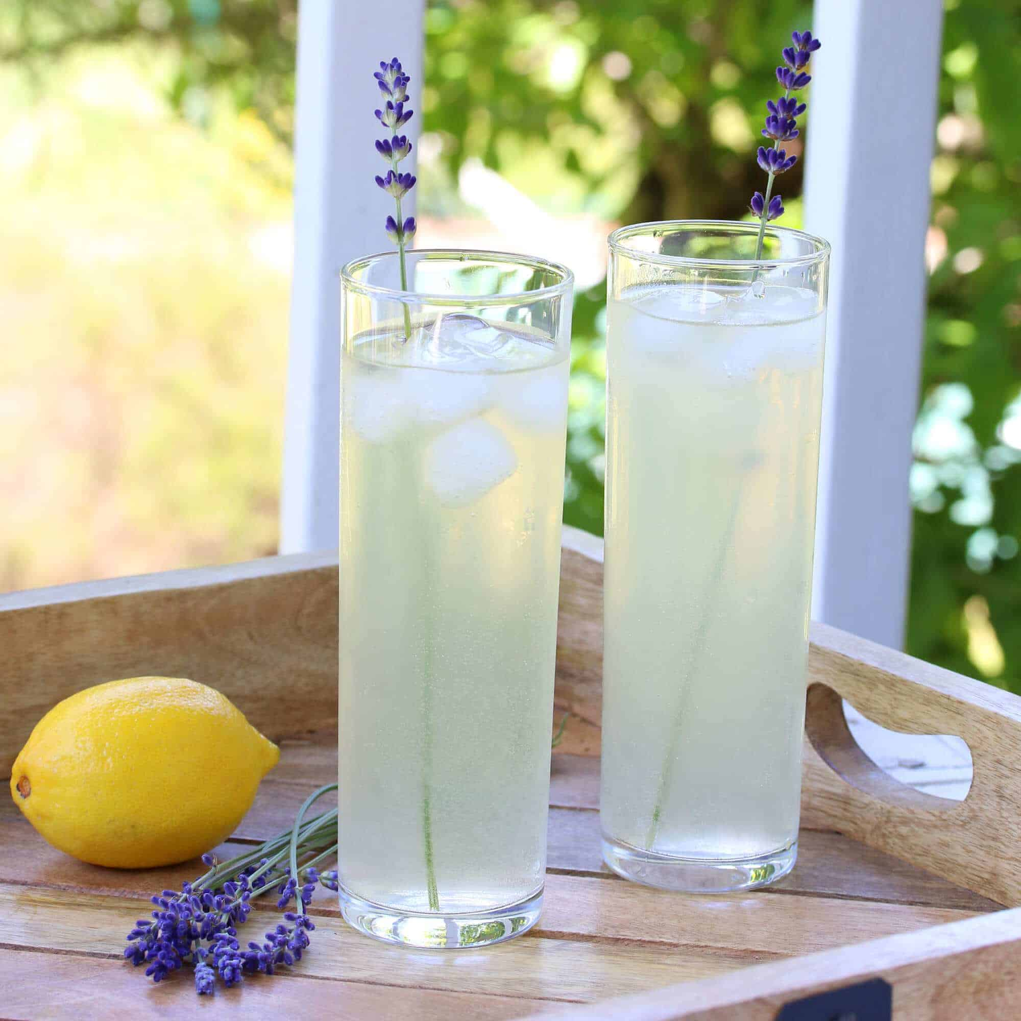 lavender lemonade recipe fresh dried honey simple syrup easy