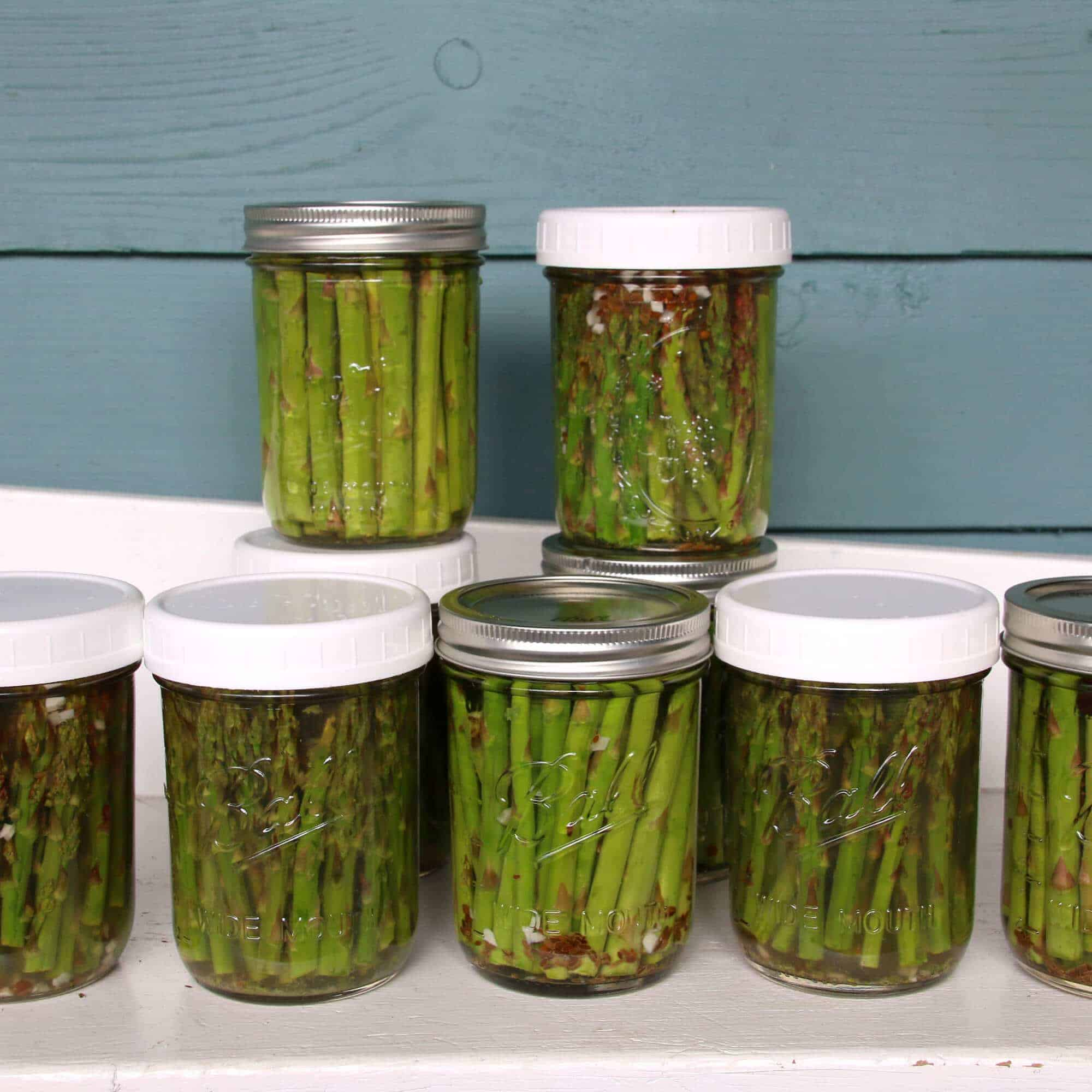 how to make pickled asparagus recipe preserving canning pickling antipasto