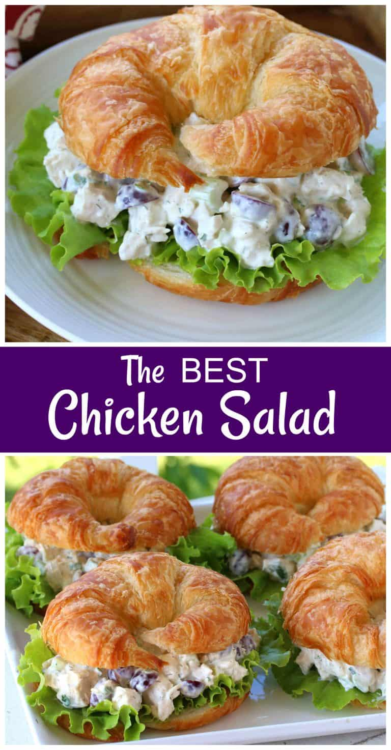 chicken salad recipe sandwiches croissants wraps deli style