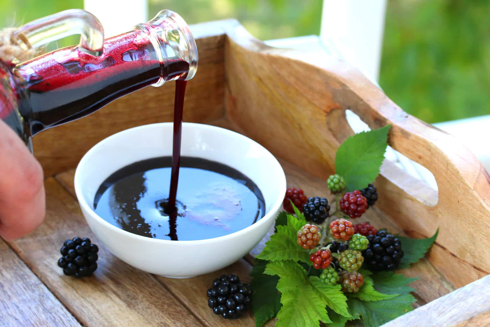 blackberry syrup recipe homemade