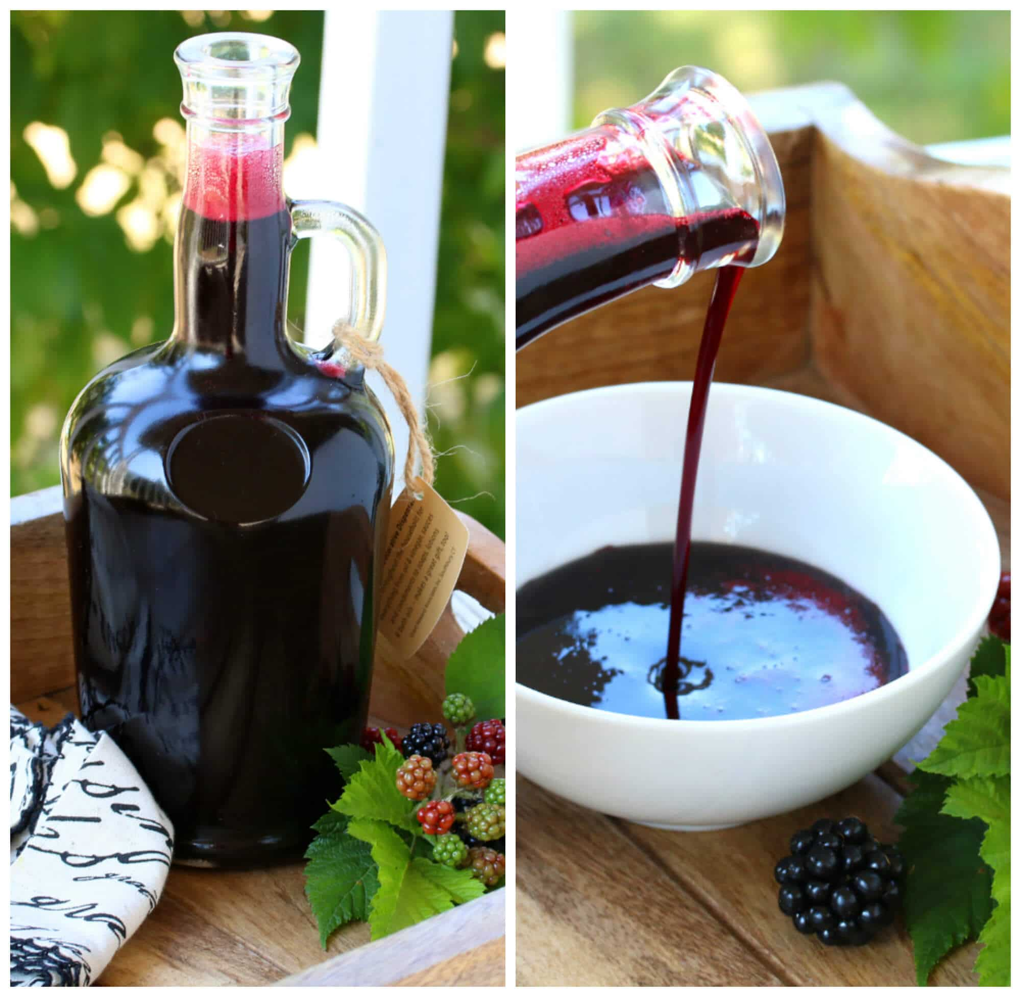 blackberry berry syrup recipe homemade sauce pancake waffle ice cream cake crepes canning preserving