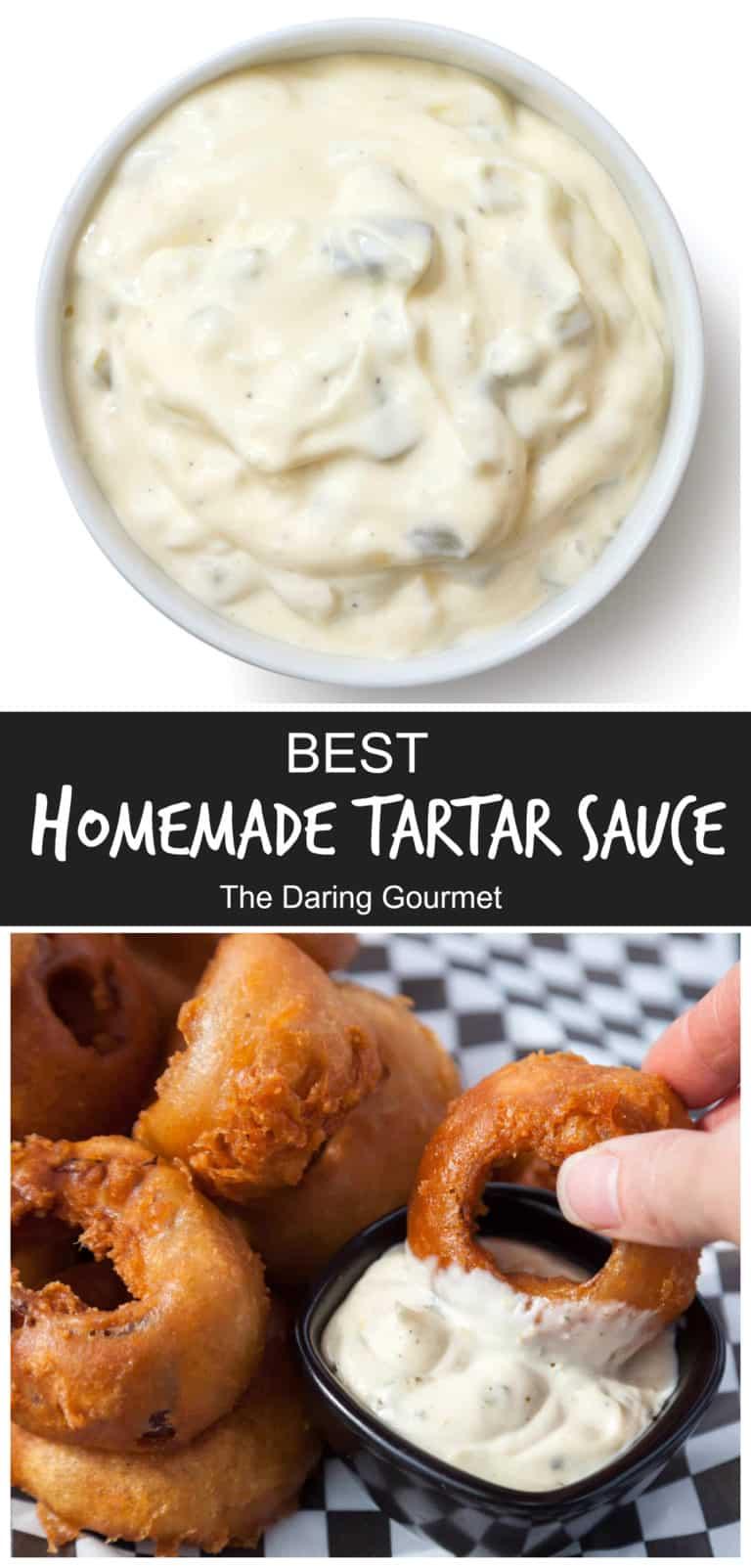 tartar sauce recipe best homemade