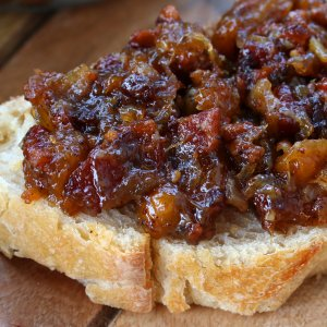 Peach Bacon Jam