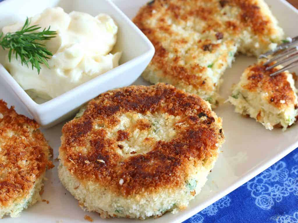 fish cakes recipe best homemade classic potato mild moist crispy