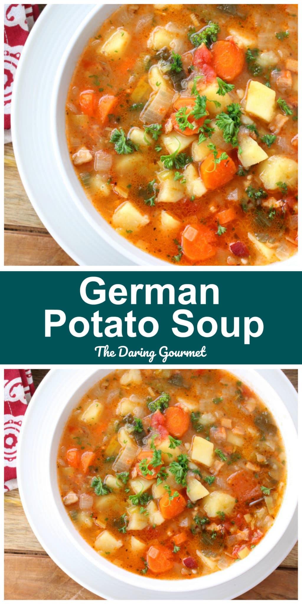 potato soup recipe best german traditional authentic