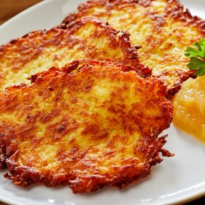 Traditional Kartoffelpuffer (German Potato Pancakes)