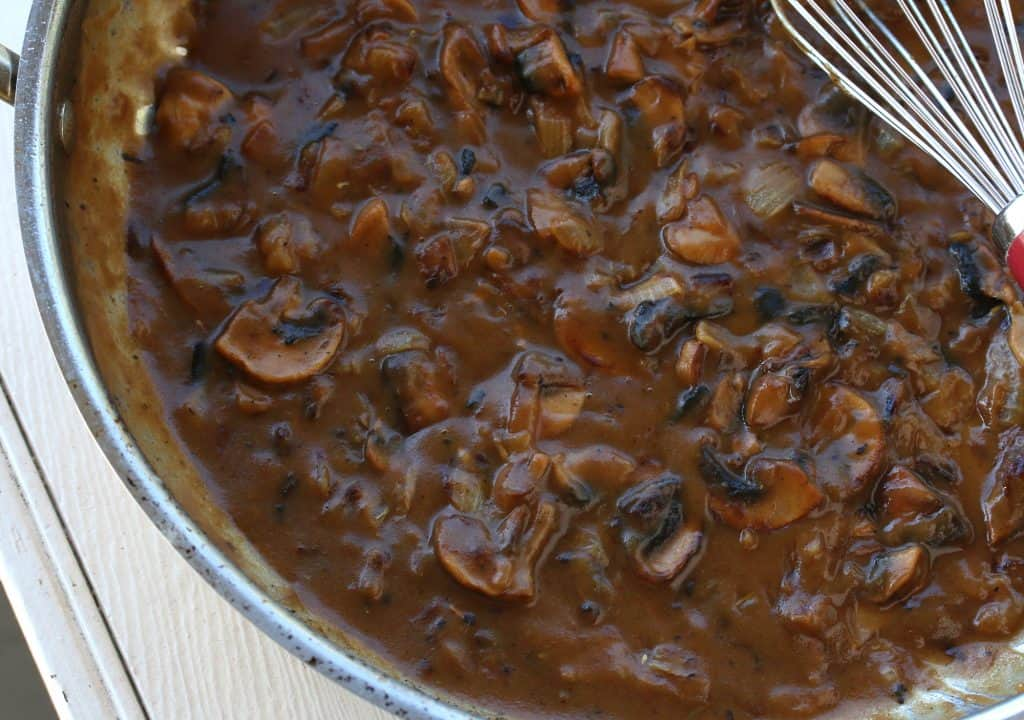 Best Brown Mushroom Gravy From Scratch The Daring Gourmet