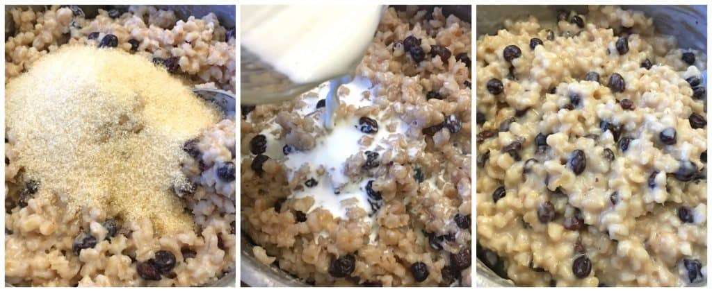 scottish barley pudding recipe traditional authentic currants raisins cream scotland breakfast dessert