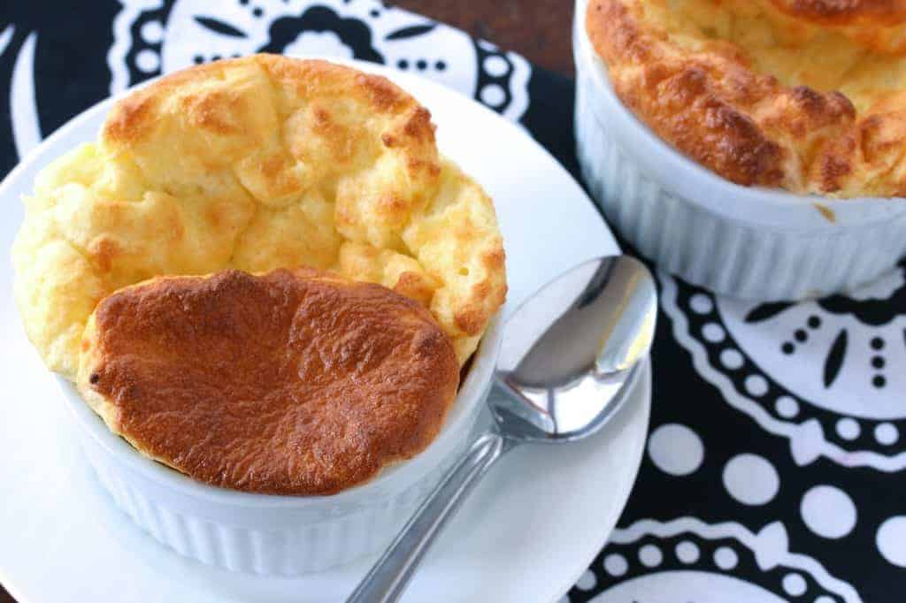 cheese souffle recipe best easy traditional classic French Julia Child