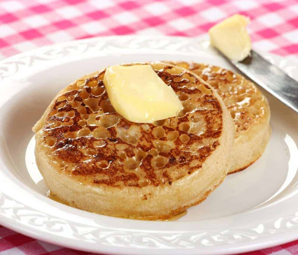 crumpets recipe how to make homemade English British traditional authentic