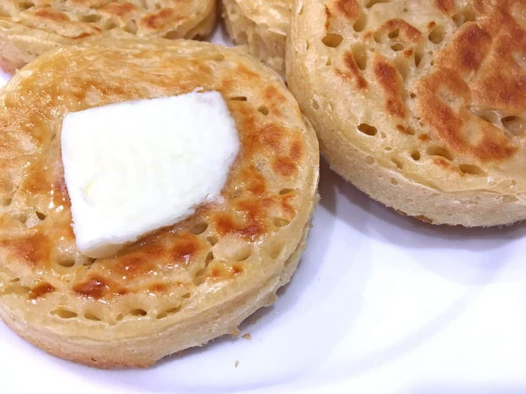 Authentic English Crumpets Recipe The Daring Gourmet