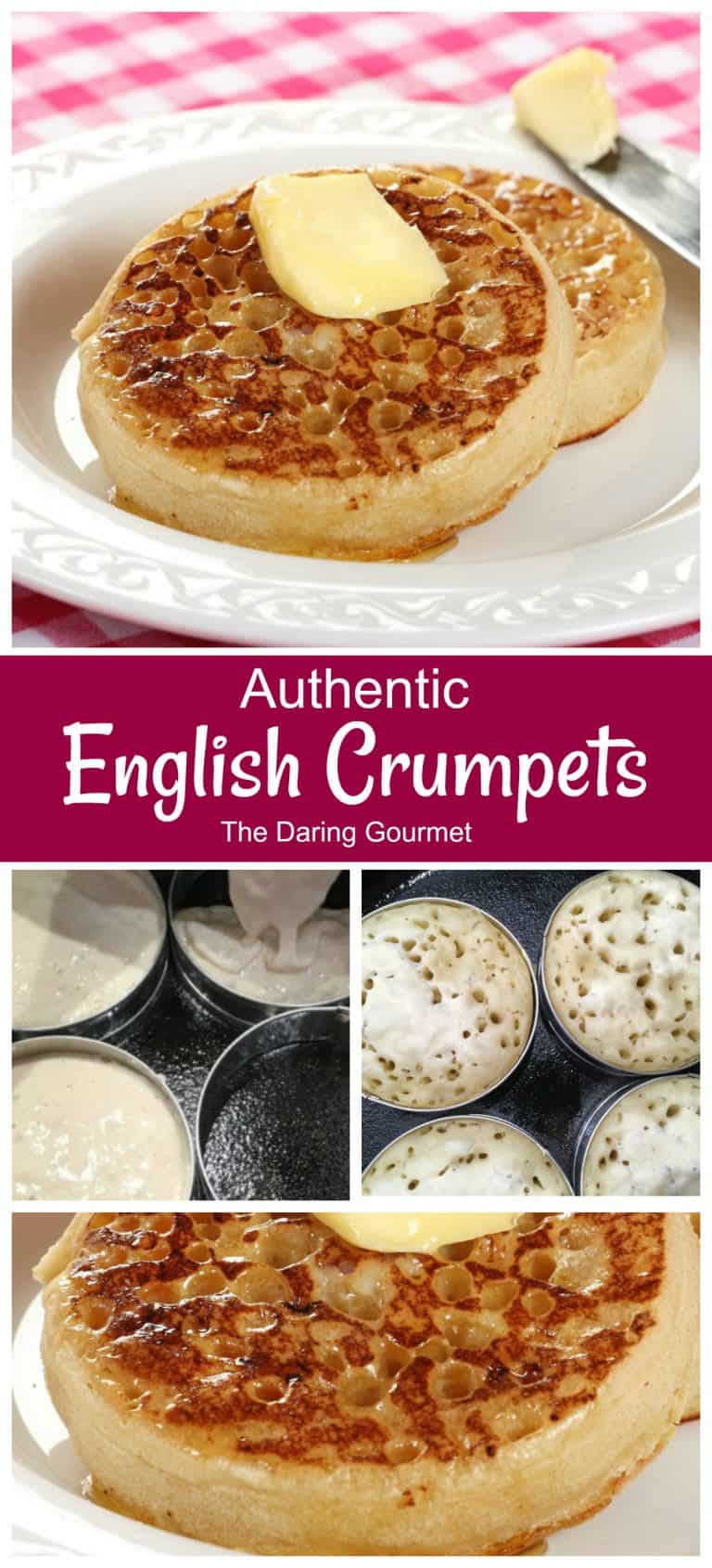 crumpets recipe homemade authentic traditional english british