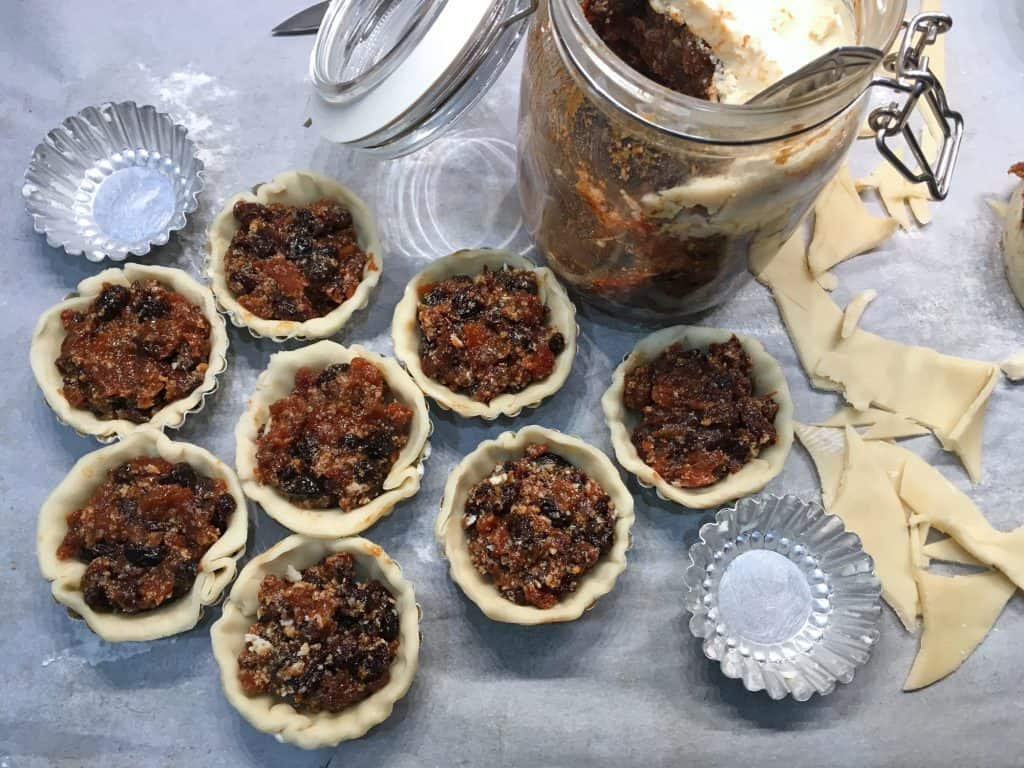 mincemeat pie recipe mince pies authentic british canadian australian new england mincemeat