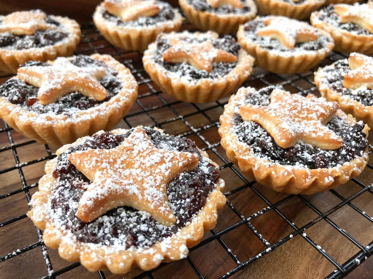mincemeat pie recipe mince pie best traditional authentic British English from scratch