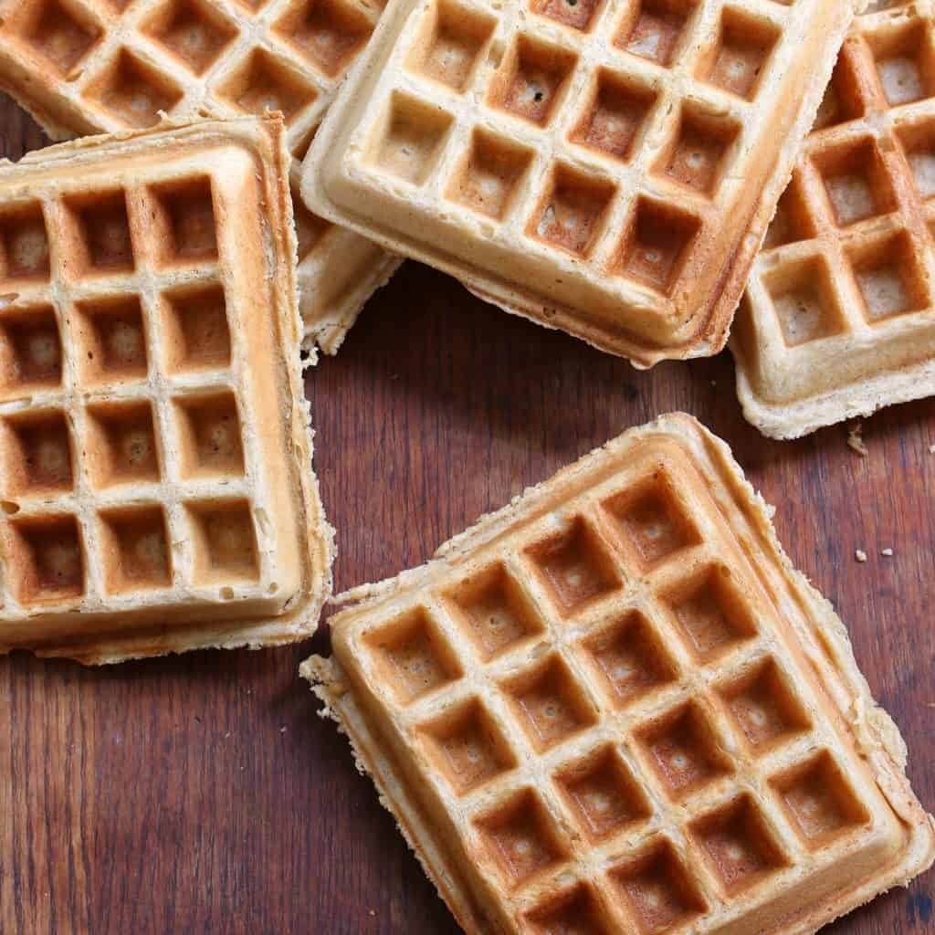 gluten free oat waffles recipe best whole grain healthy coconut oil oats