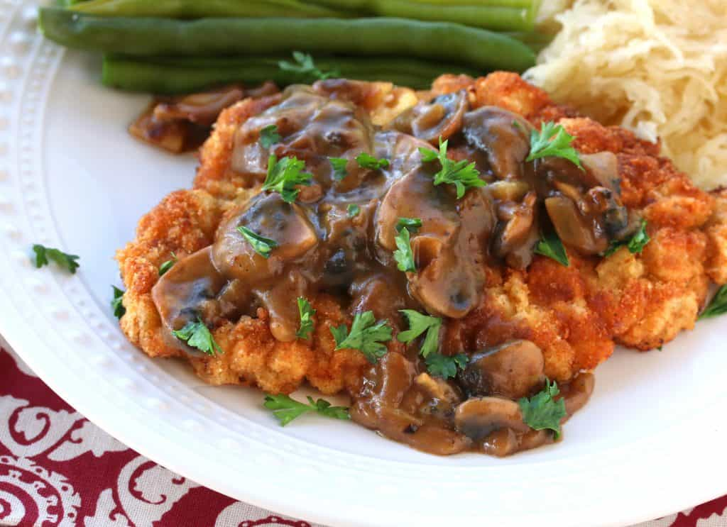 german jagerschnitzel recipe mushroom gravy sauce jägerschnitzel authentic traditional best