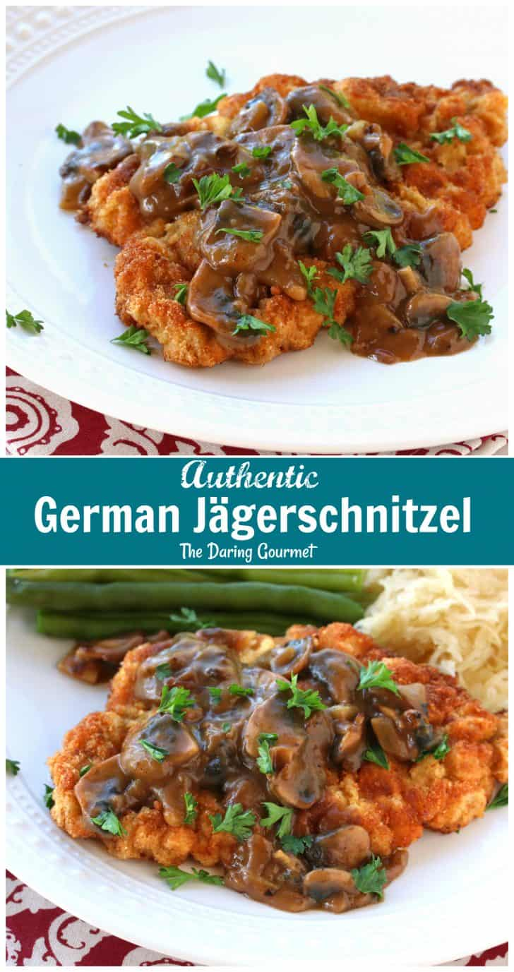 jaegerschnitzel recipe German authentic traditional jaeger schnitzel