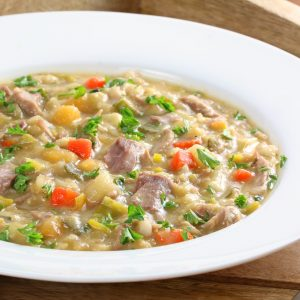 Traditional Scotch Broth