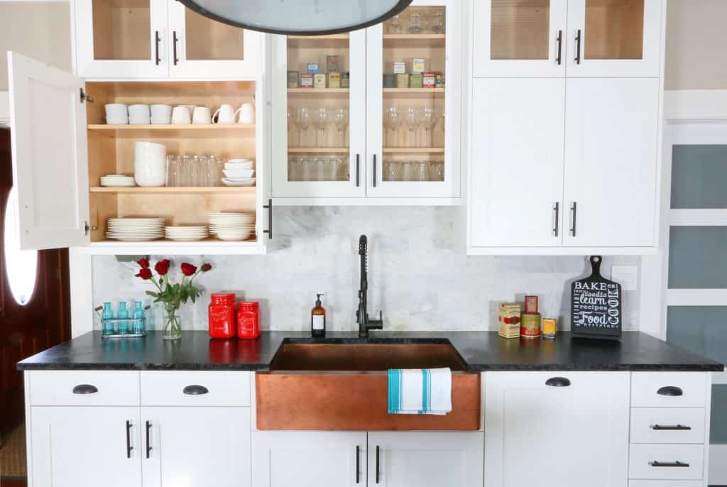 The 1912 Modern Farmhouse Kitchen Remodel: The Cabinets - The Daring ...