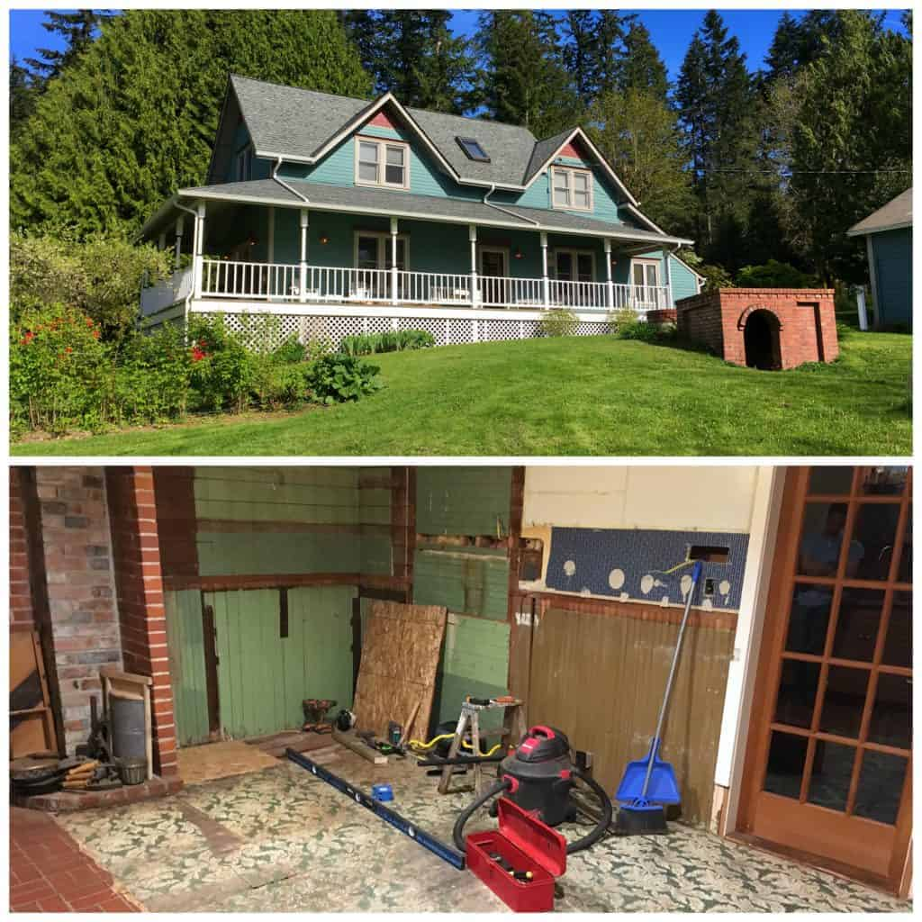 The 1912 Modern Farmhouse Kitchen Remodel Demolition Redo Wiring Old House Daring Gourmet