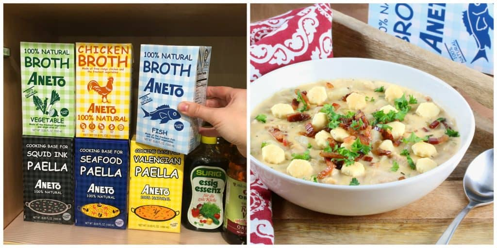 new england clam chowder recipe best authentic traditional original bacon pancetta creamy fish broth aneto