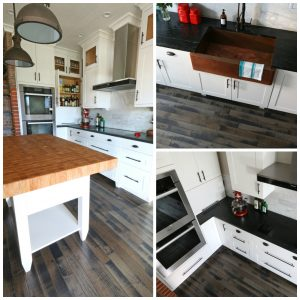 The 1912 Modern Farmhouse Kitchen Remodel:  The Flooring
