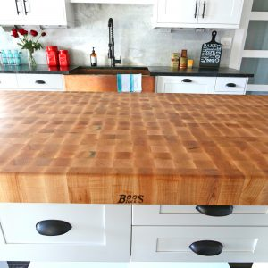 The 1912 Modern Farmhouse Kitchen Remodel:  Our John Boos Butcher Block Island