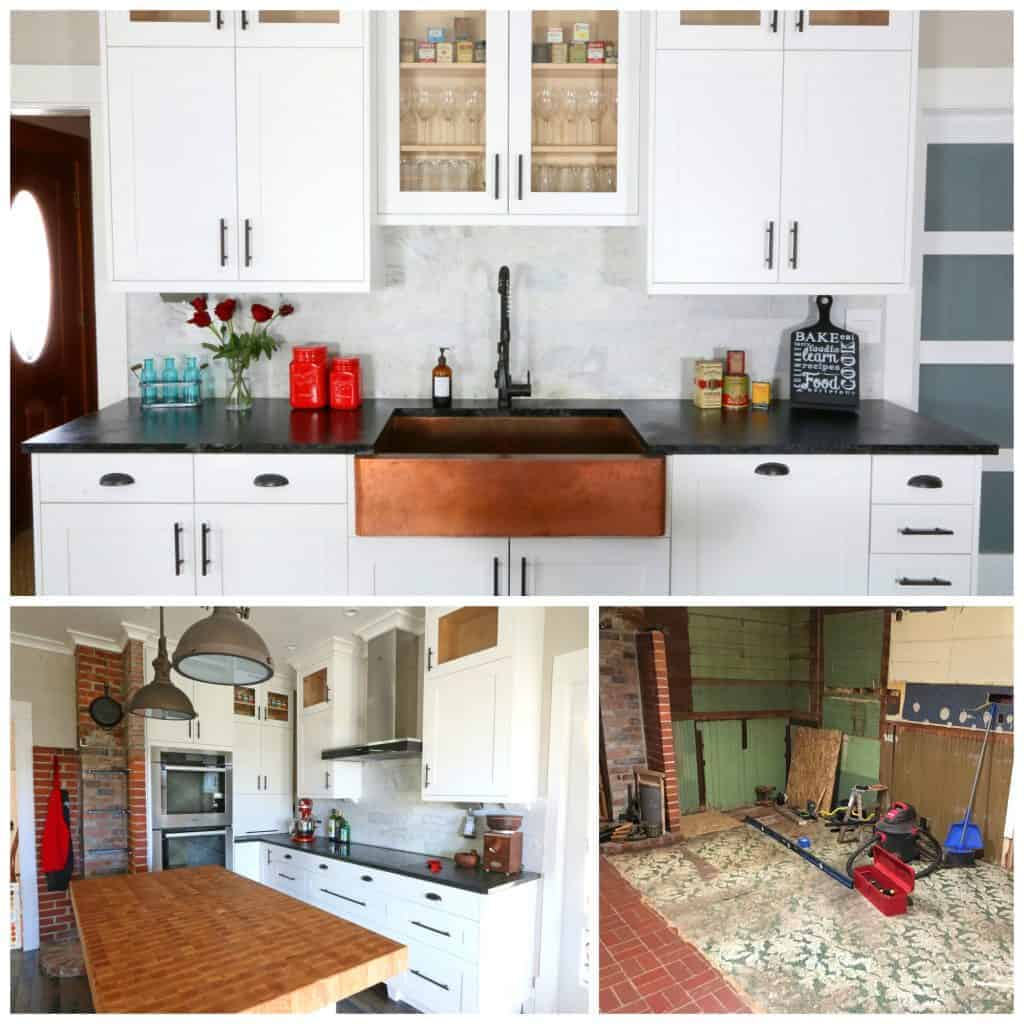 The 1912 Modern Farmhouse Kitchen Remodel: The Reveal - The Daring ...