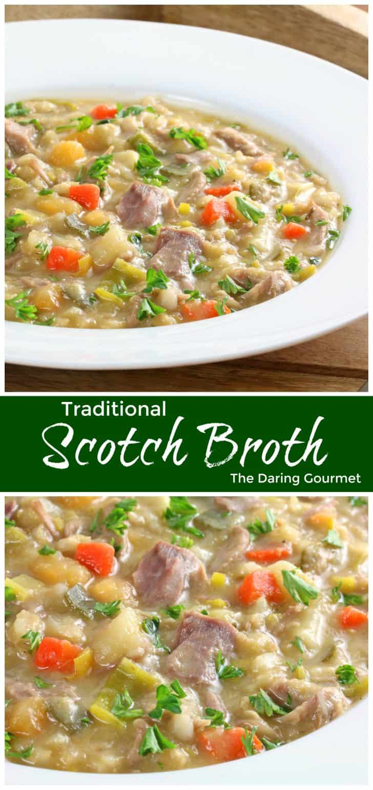scotch broth recipe scottish authentic