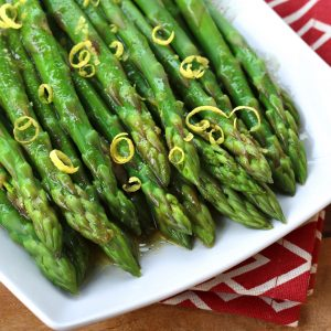 Chilled Asparagus with Lemon-Dijon Vinaigrette