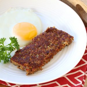 Goetta (Cincinnati Sausage Grain Patties)