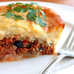 moussaka recipe best authentic traditional beef bechamel sauce