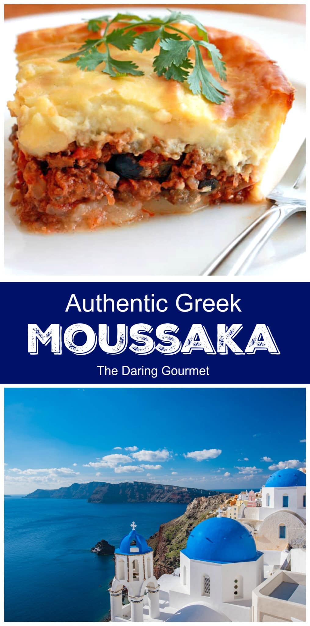 moussaka recipe best authentic traditional Greek beef bechamel sauce