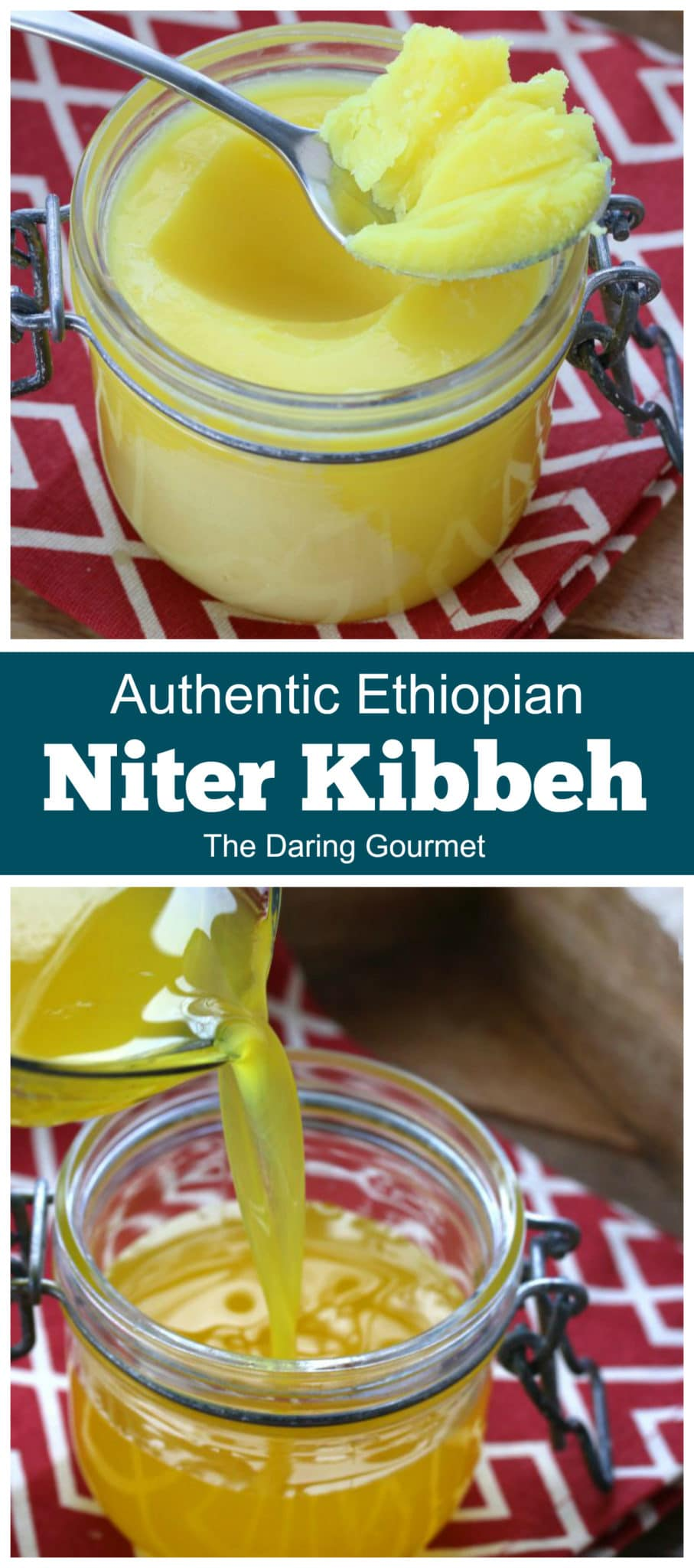 niter kibbeh recipe homemade authentic traditional ethiopian spiced clarified butter