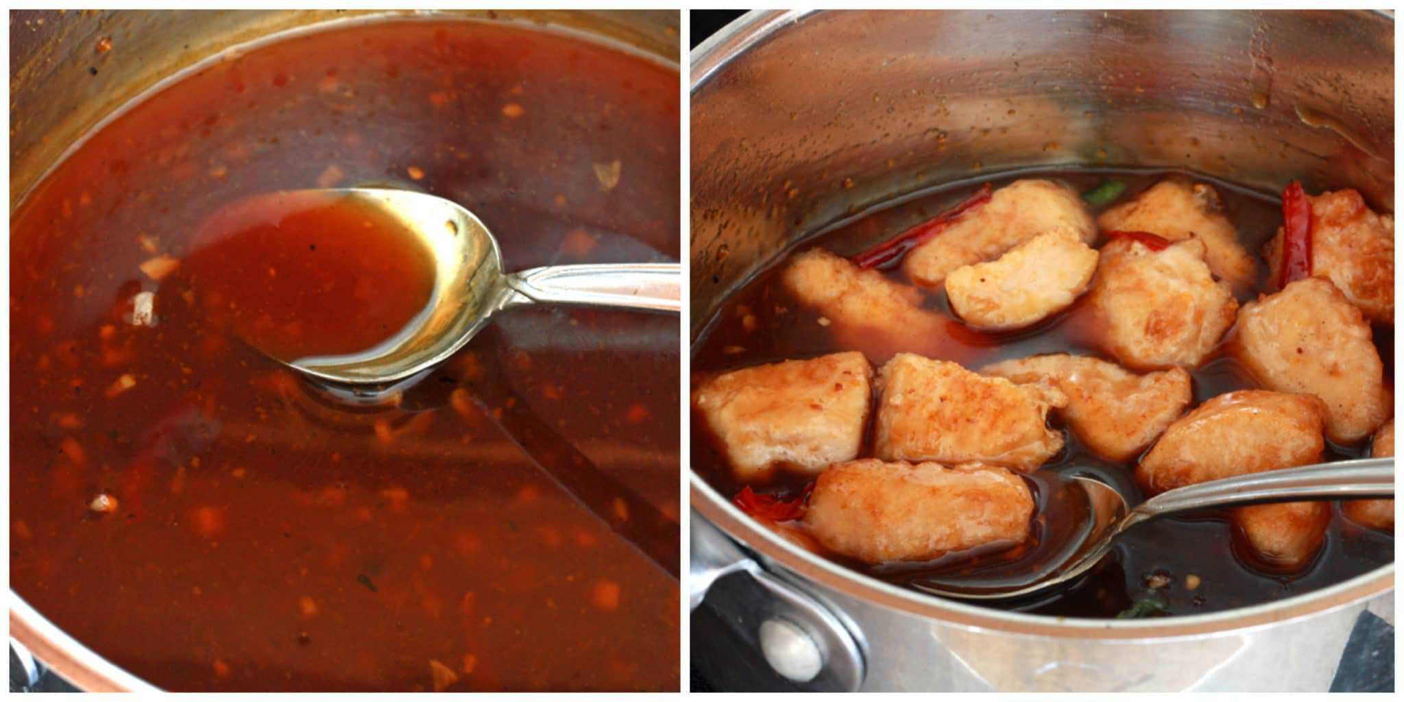 orange chicken recipe sauce cooking