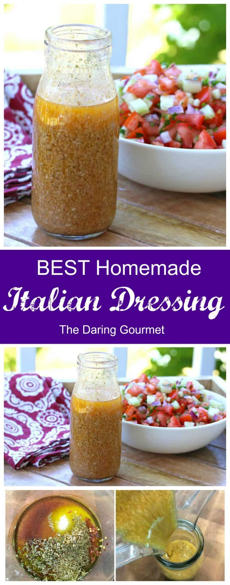 italian dressing recipe from scratch healthy best homemade