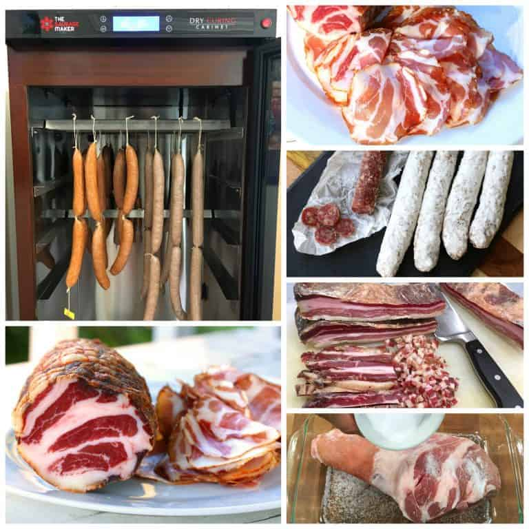 homemade coppa sausage maker dry curing cabinet review