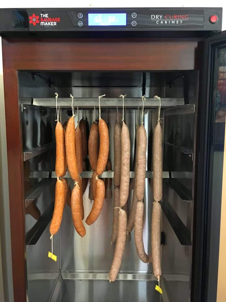 *The Sausage Maker Dry Curing Cabinet Can Also Be Purchased Here On Amazon.