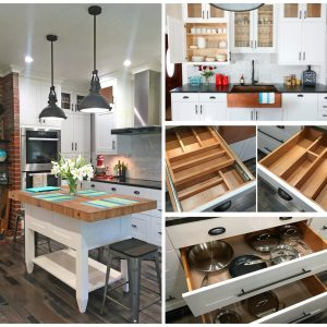 The 1912 Modern Farmhouse Kitchen Remodel:  The Cabinets