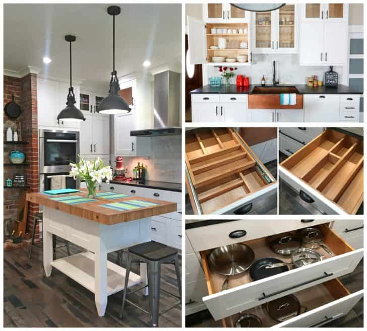 Farmhouse Kitchen Cabinets: The 1912 Modern Farmhouse Kitchen Remodel: The Cabinets