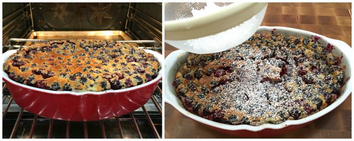 blackberry clafoutis recipe french