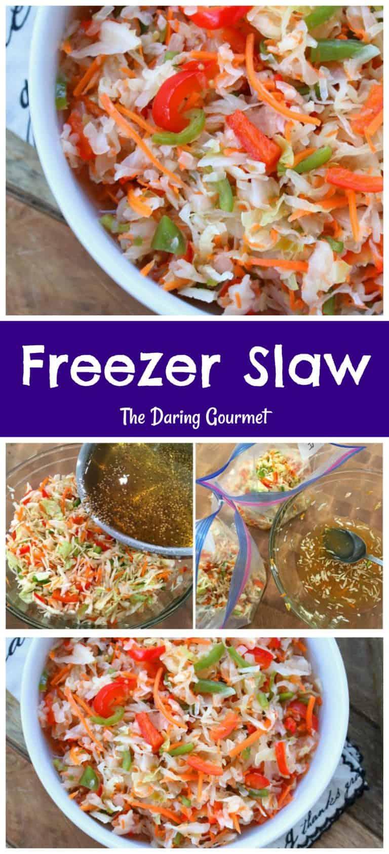 freezer slaw recipe coleslaw make ahead