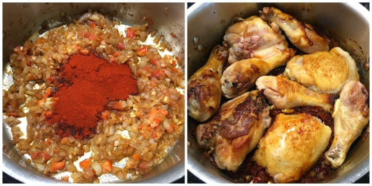 Authentic Chicken Paprikash (Paprikás Csirke) - The Daring Gourmet