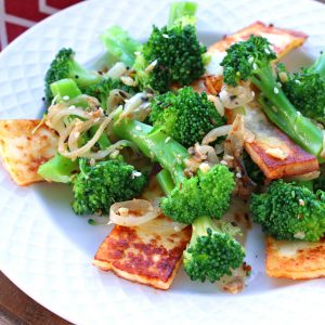 Indian Broccoli with Paneer